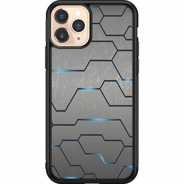 Apple iPhone 11 Pro Soft Case (Svart) Mönster