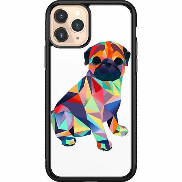 Apple iPhone 11 Pro Soft Case (Svart) Pug