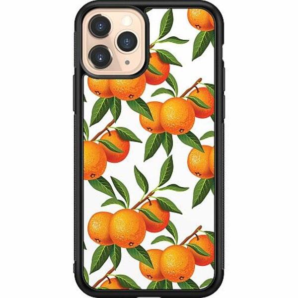 Apple iPhone 11 Pro Soft Case (Svart) Tangerine Tenderness