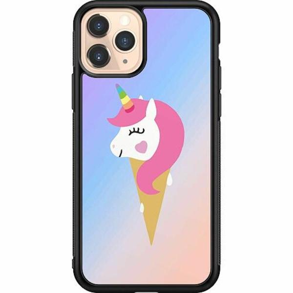 Apple iPhone 11 Pro Soft Case (Svart) UNICORN