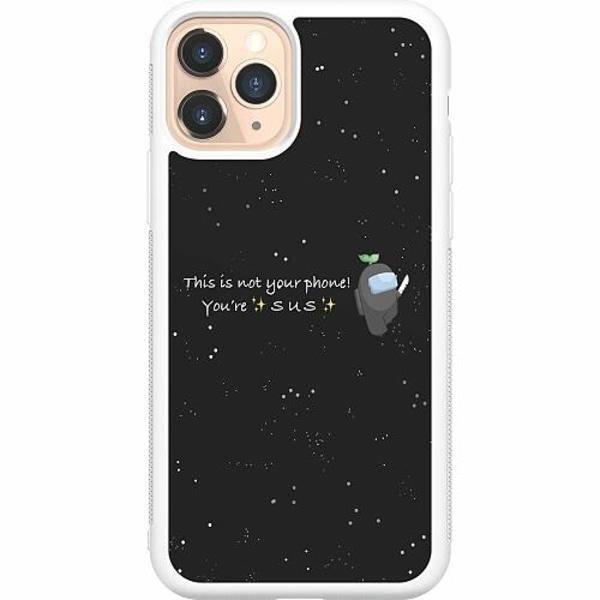 Apple iPhone 11 Pro Soft Case (Vit) Among Us 2021