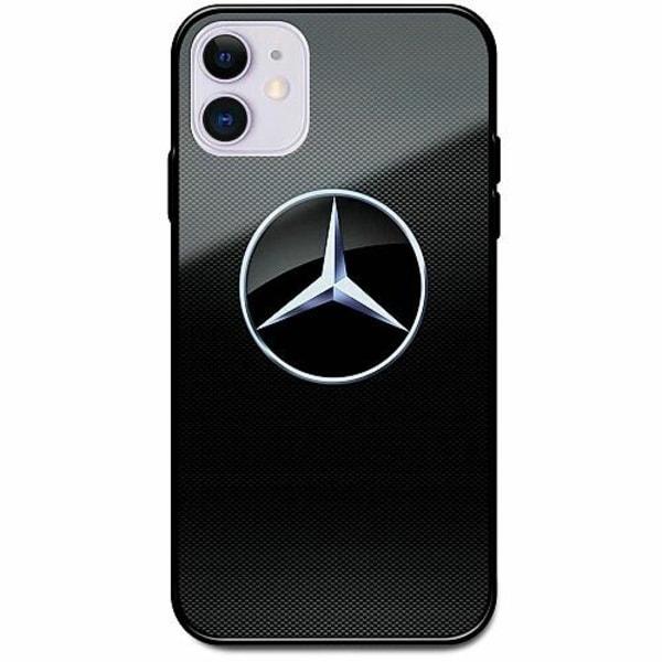 Apple iPhone 12 mini Svart Mobilskal med Glas Mercedes