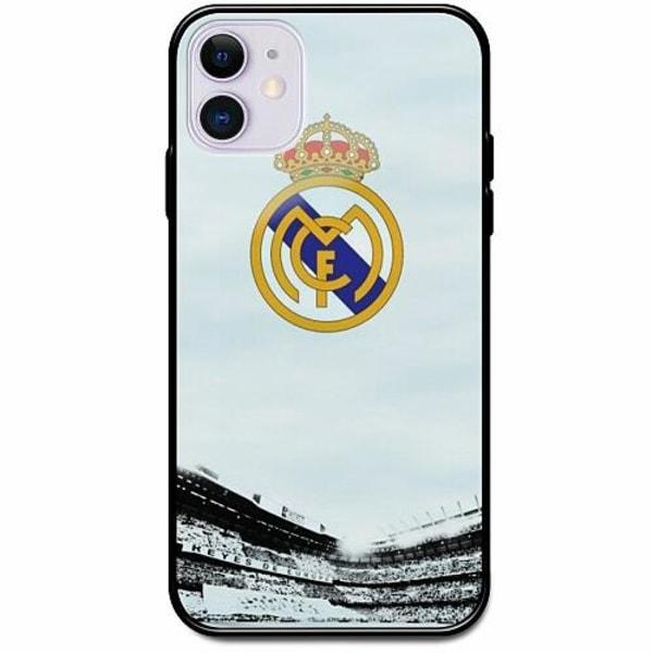 Apple iPhone 12 Svart Mobilskal med Glas Real Madrid CF