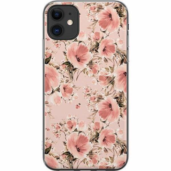 Apple iPhone 11 Thin Case Blommor