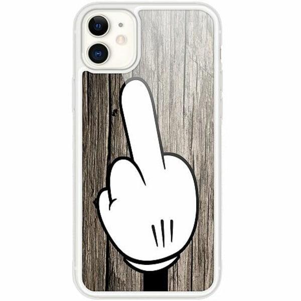 Apple iPhone 12 mini Transparent Mobilskal med Glas F-YOU!