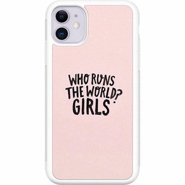 Apple iPhone 12 Vitt Mobilskal Runs the world