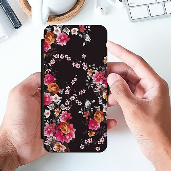 Huawei P Smart (2019) Slimmat Fodral Flower Splash