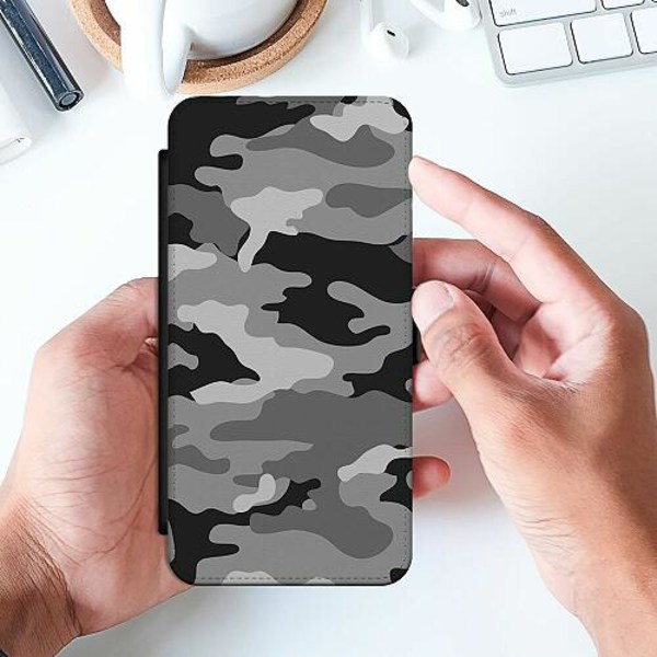 Huawei P Smart (2019) Slimmat Fodral Military B/W