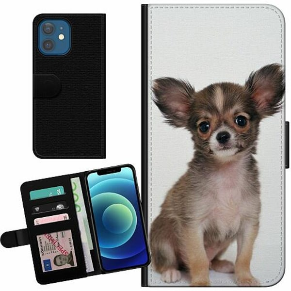 Apple iPhone 12 Billigt Fodral Chihuahua