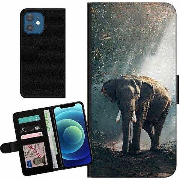 Apple iPhone 12 Billigt Fodral Elefant