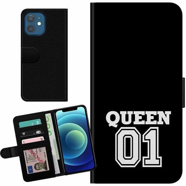 Apple iPhone 12 Billigt Fodral Queen 01