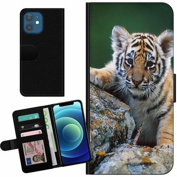 Apple iPhone 12 Billigt Fodral Tiger
