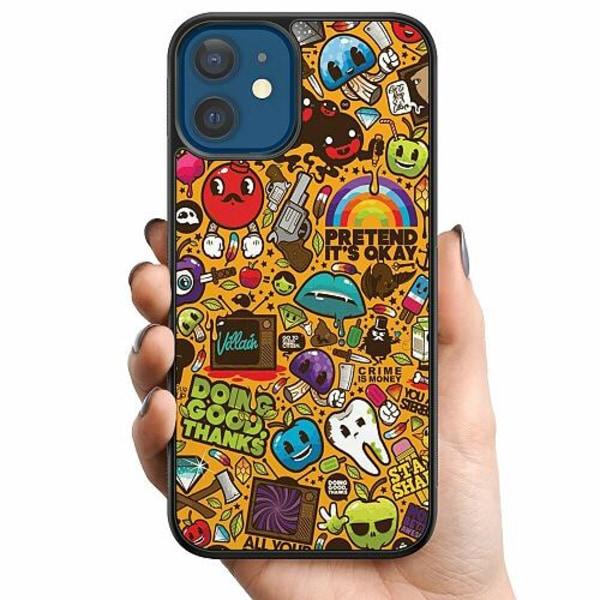 Apple iPhone 12 Billigt mobilskal - Stickers