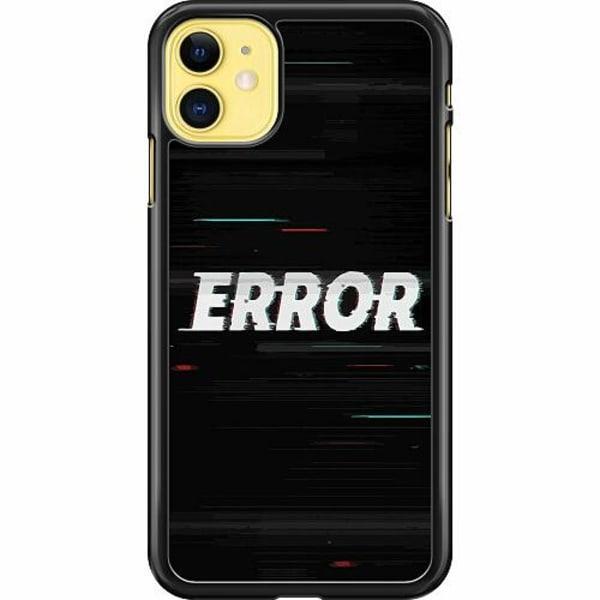 Apple iPhone 12 mini Hard Case (Black) ERROR