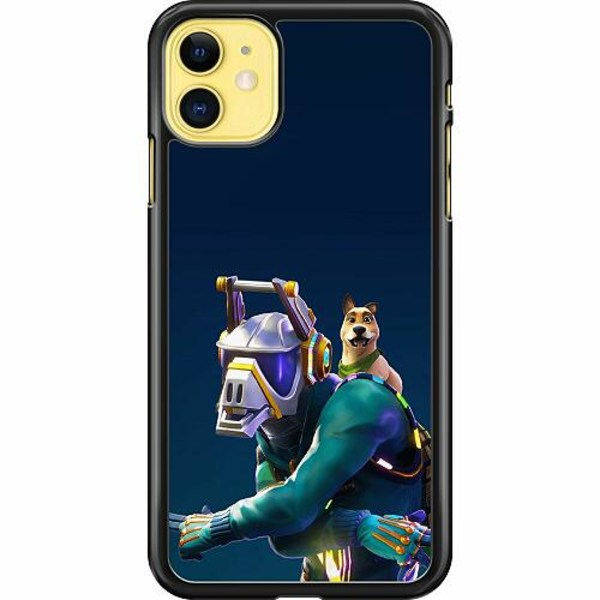 Apple iPhone 12 Hard Case (Black) Fortnite Dj Yonder