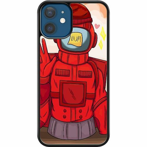 Apple iPhone 12 Hard Case (Svart) Among Us 2021