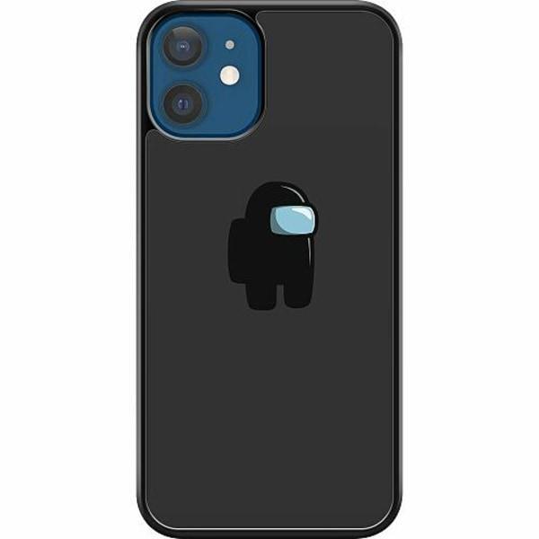 Apple iPhone 12 Hard Case (Svart) Among Us
