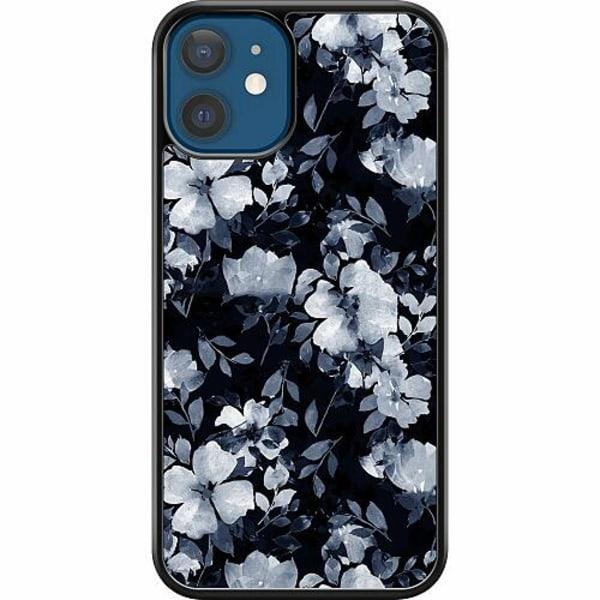 Apple iPhone 12 Hard Case (Svart) Moonlight Meadow