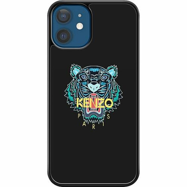 Apple iPhone 12 Hard Case (Svart) Tiger