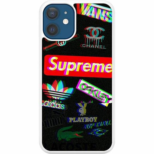 Apple iPhone 12 Hard Case (Vit) 3D