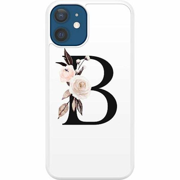 Apple iPhone 12 Hard Case (Vit) Bokstäver