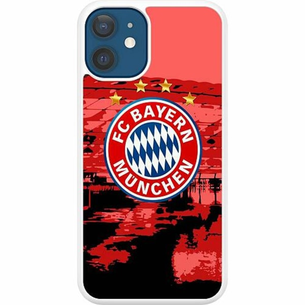 Apple iPhone 12 Hard Case (Vit) FC Bayern München