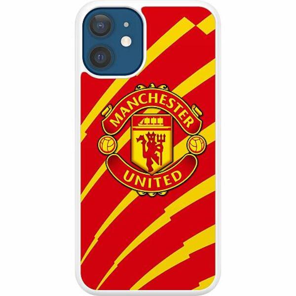 Apple iPhone 12 Hard Case (Vit) Manchester United FC