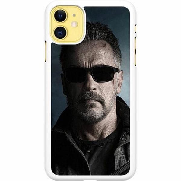Apple iPhone 12 Hard Case (White) Arnold Schwarzenegger