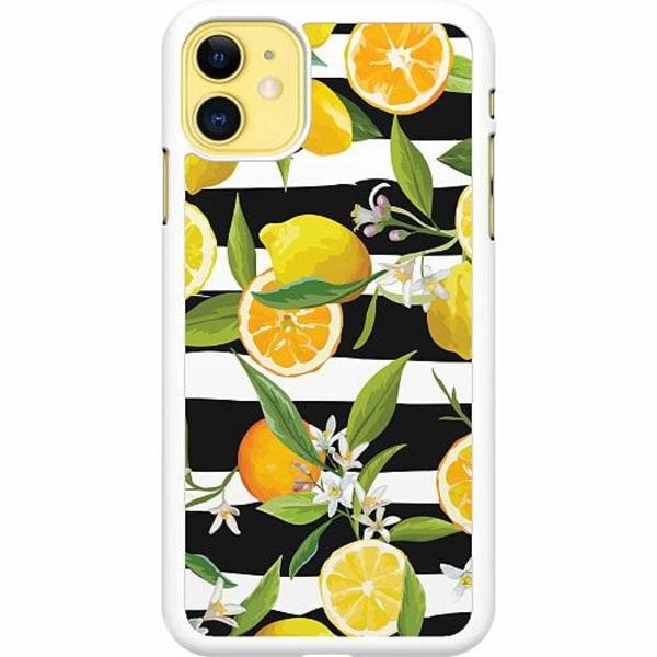 Apple iPhone 12 Hard Case (White) Lemon Party