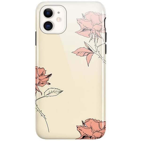 Apple iPhone 12 LUX Duo Case (Glansig)  Thorns On Falling Roses