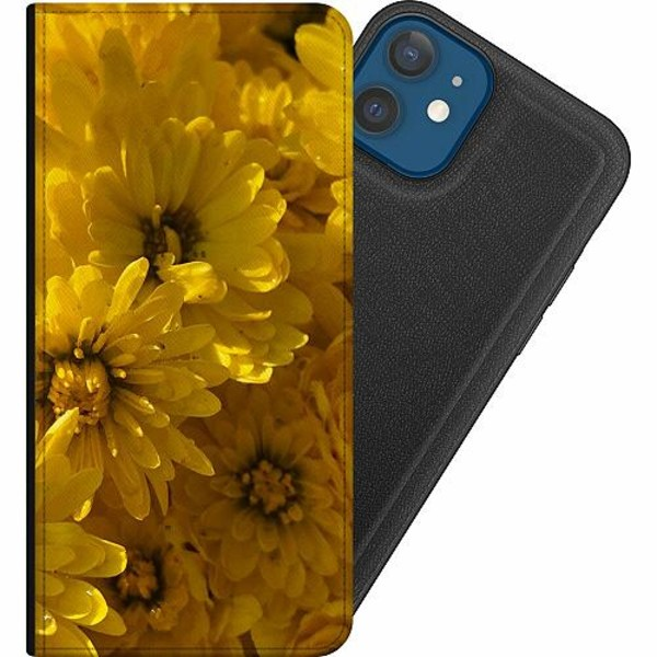 Apple iPhone 12 Magnetic Wallet Case Yellowy. Kinda