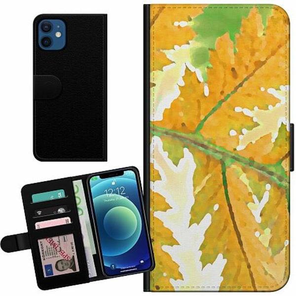 Apple iPhone 12 mini Billigt Fodral Autumn Left