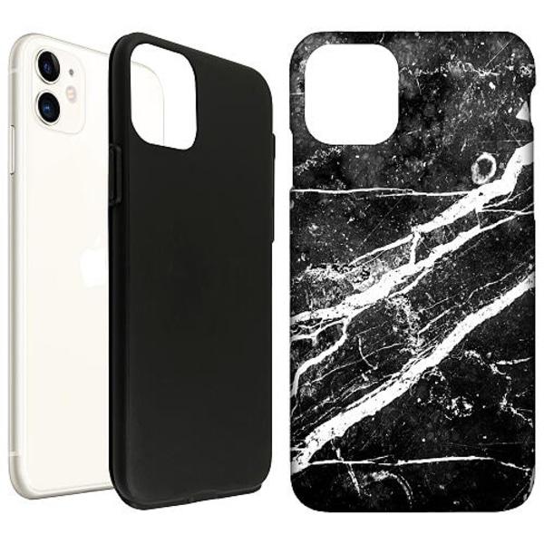Apple iPhone 12 mini LUX Duo Case (Matt) Past Tense Art