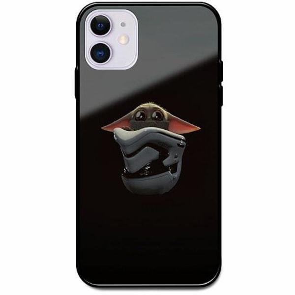 Apple iPhone 12 mini Svart Mobilskal med Glas Baby Yoda