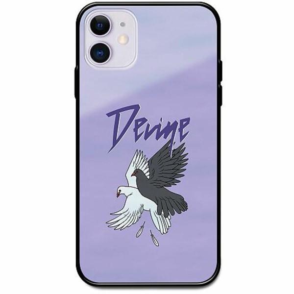 Apple iPhone 12 mini Svart Mobilskal med Glas Devine Doves