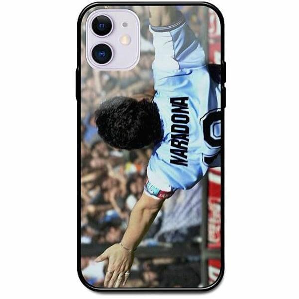 Apple iPhone 12 mini Svart Mobilskal med Glas Diego Maradona