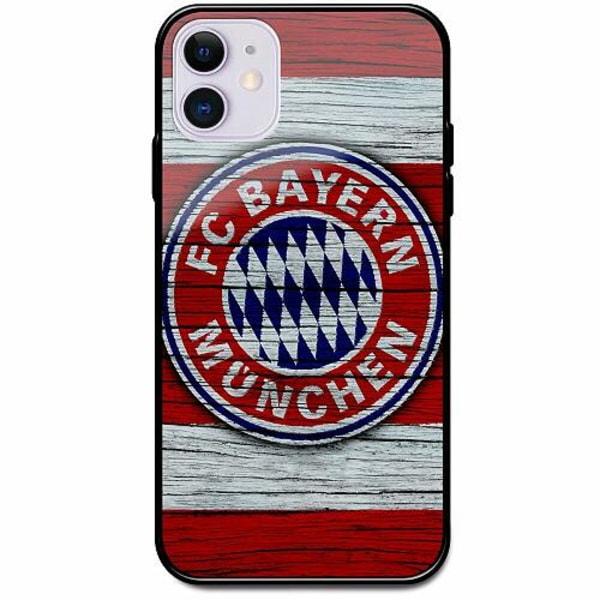 Apple iPhone 12 mini Svart Mobilskal med Glas FC Bayern