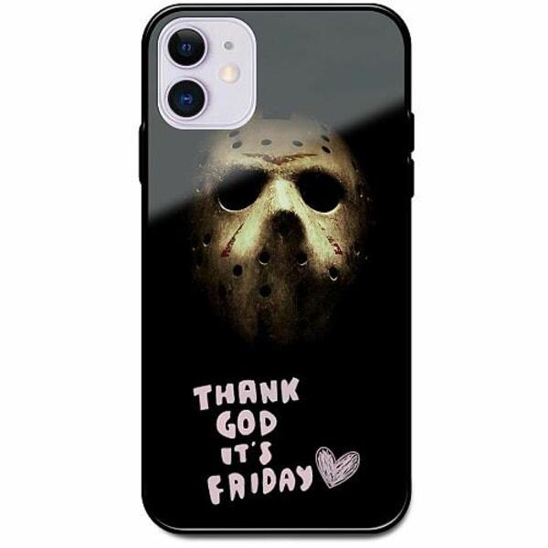 Apple iPhone 12 mini Svart Mobilskal med Glas Friday