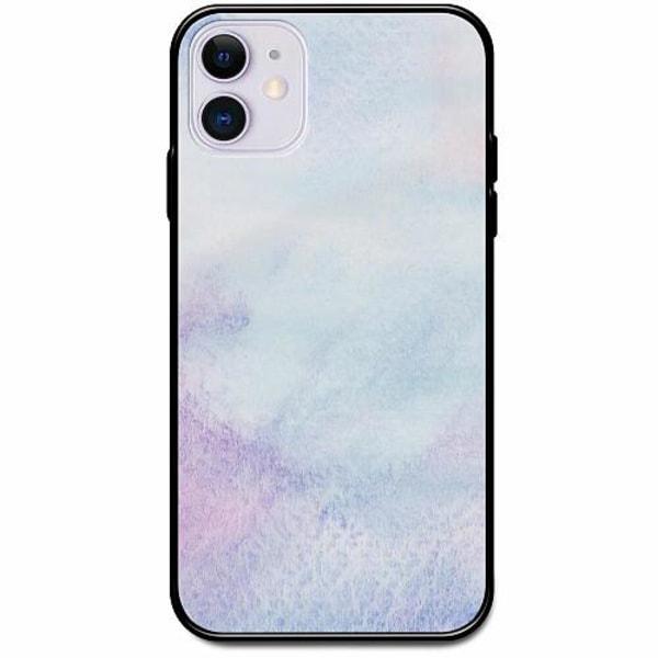 Apple iPhone 12 mini Svart Mobilskal med Glas Frosted Frost