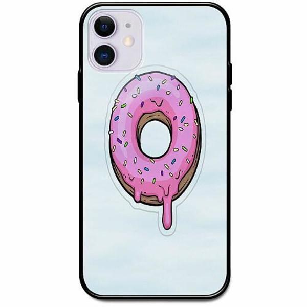 Apple iPhone 12 mini Svart Mobilskal med Glas Frosty Donut