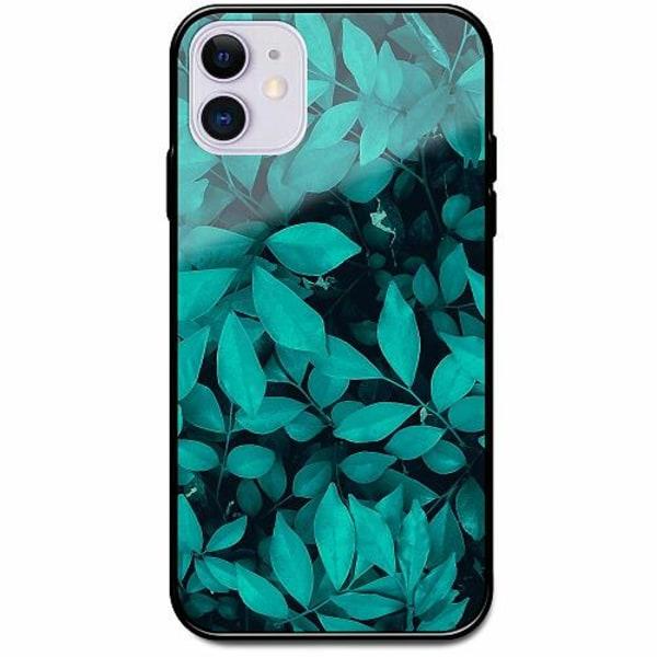 Apple iPhone 12 mini Svart Mobilskal med Glas Green Bliss