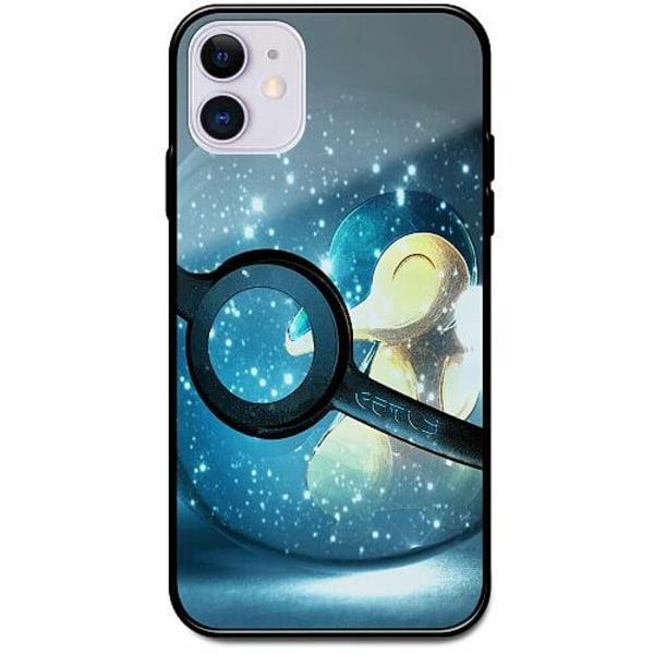 Apple iPhone 12 mini Svart Mobilskal med Glas Pokemon