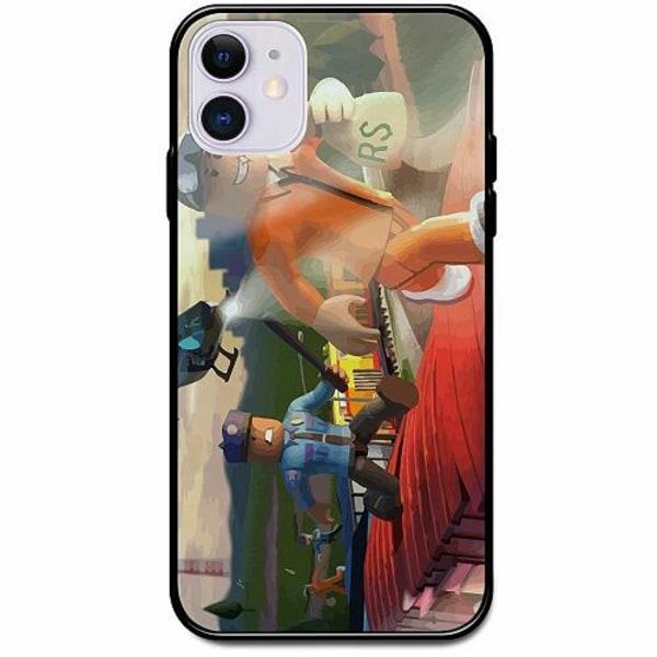 Apple iPhone 12 mini Svart Mobilskal med Glas Roblox