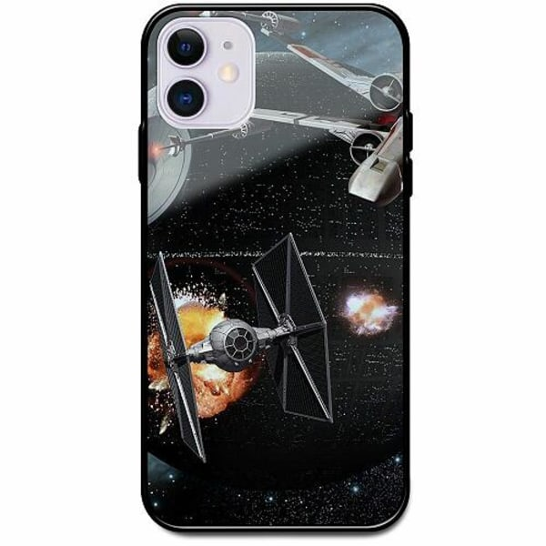 Apple iPhone 12 mini Svart Mobilskal med Glas Star Wars