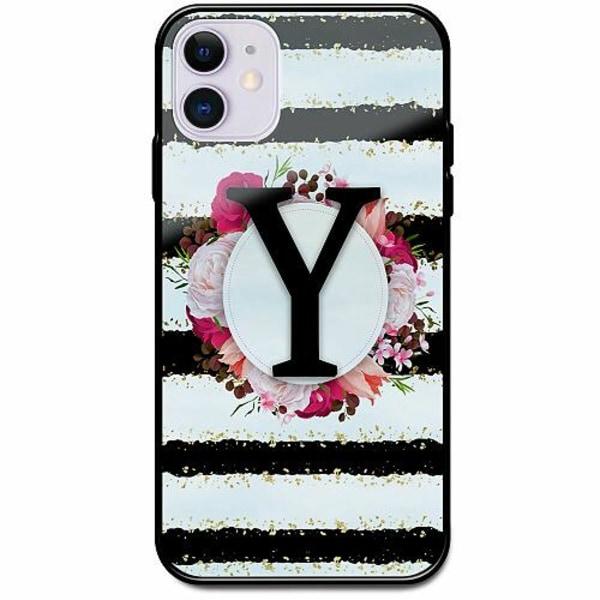 Apple iPhone 12 mini Svart Mobilskal med Glas Y