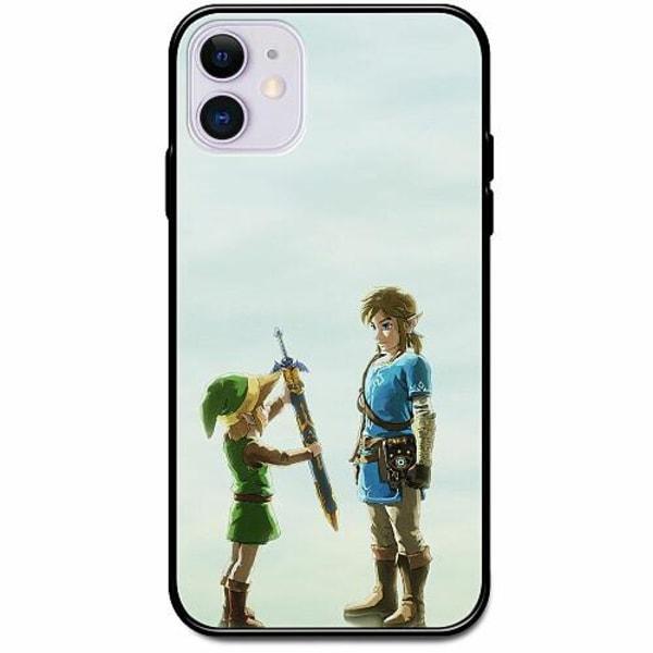 Apple iPhone 12 mini Svart Mobilskal med Glas Zelda