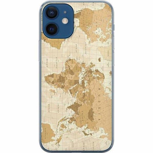 Apple iPhone 12 mini Mjukt skal - Map