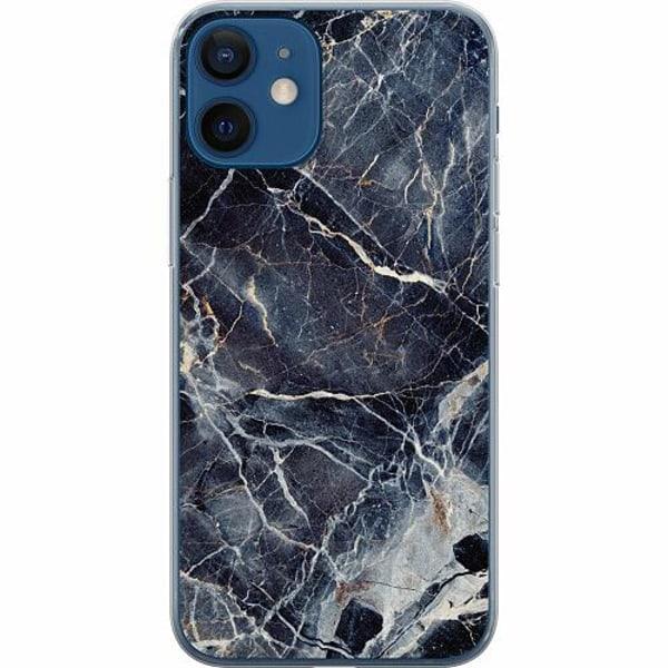 Apple iPhone 12 mini Mjukt skal - Marbled