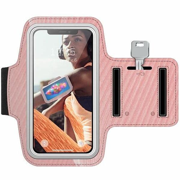 Nokia 7 Plus Träningsarmband / Sportarmband -  Coral Dream