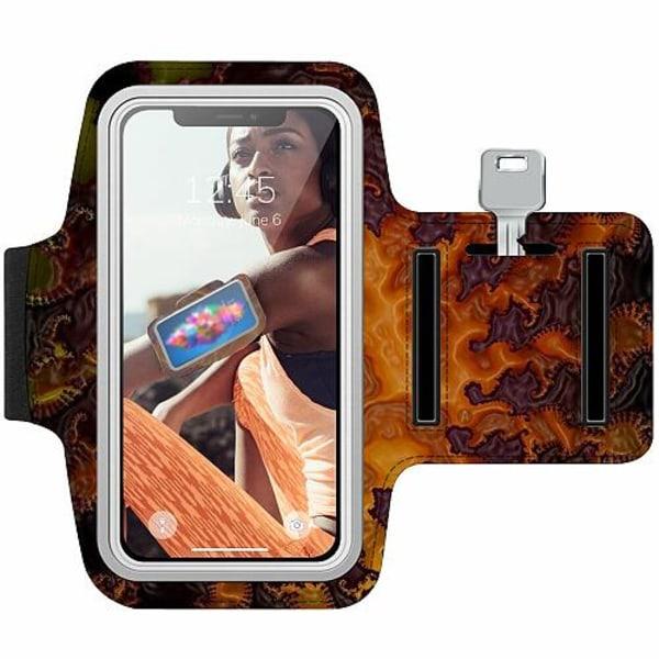 Nokia 7 Plus Träningsarmband / Sportarmband -  Deep Crust